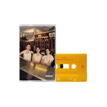 HAIM Women In Music Pt.III Dark Yellow Cassette