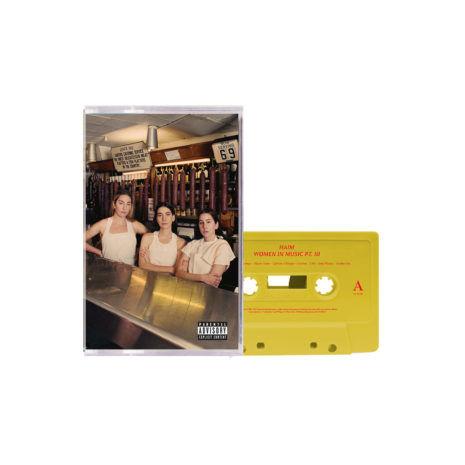 HAIM Women In Music Pt.III Yellow Cassette
