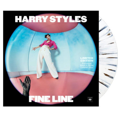 Harry Styles Fine Line Black White Vinyl