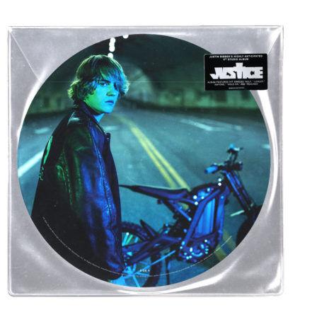 JUSTIN BIEBER Justice Picture Disc Vinyl