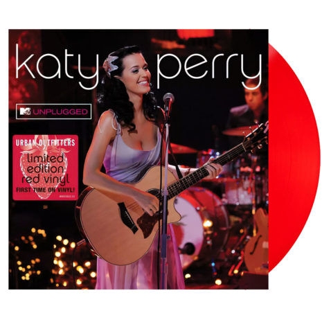 KATY PERRY Unplugged (Live At MTV) Red UO Vinyl
