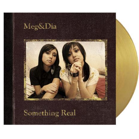 MEG AND DIA Something Real Gold Vinyl