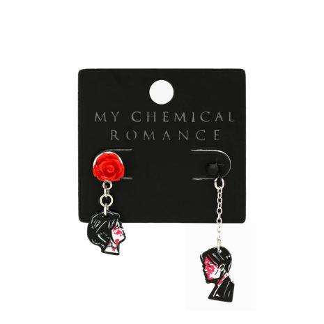 MY CHEMICAL ROMANCE Three Cheers Couple Earrings