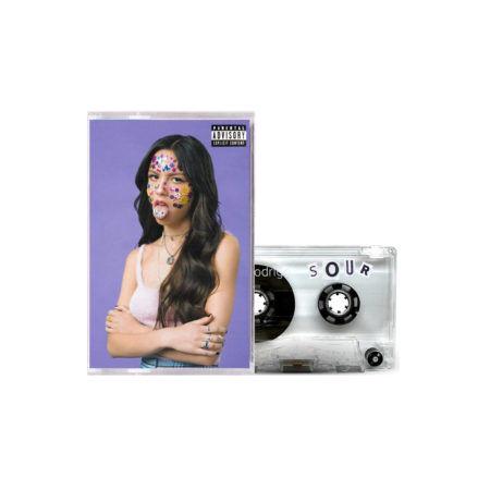 OLIVIA RODRIGO Sour Clear Cassette