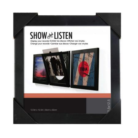SHOW AND LISTEN Black Frame