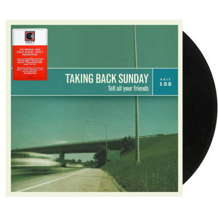 TAKING BACK SUNDAY Tell All Your Friends 20th Anniversary Vinyl