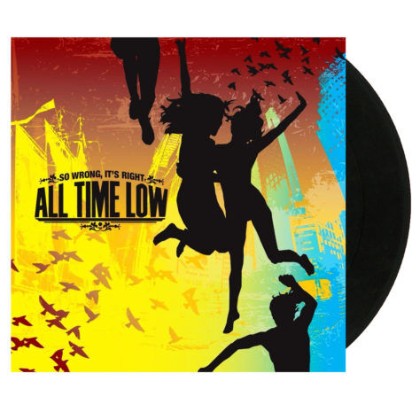 ALL TIME LOW So Wrong It's Right Black Vinyl