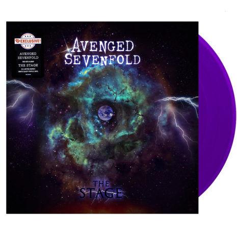 AVENGED SEVENFOLD The Stage Purple Vinyl
