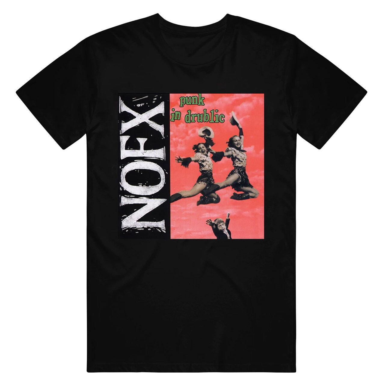 NO FX Punk In Drublic Black Tshirt