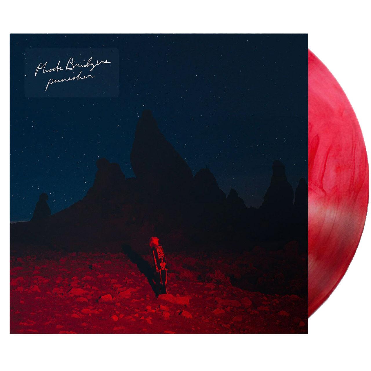 PHOEBE BRIDGERS Punisher Red and Swirly Vinyl