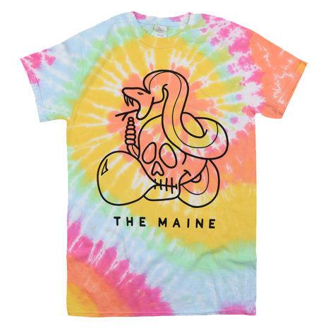 THE MAINE Snake Tie Dye Tshirt