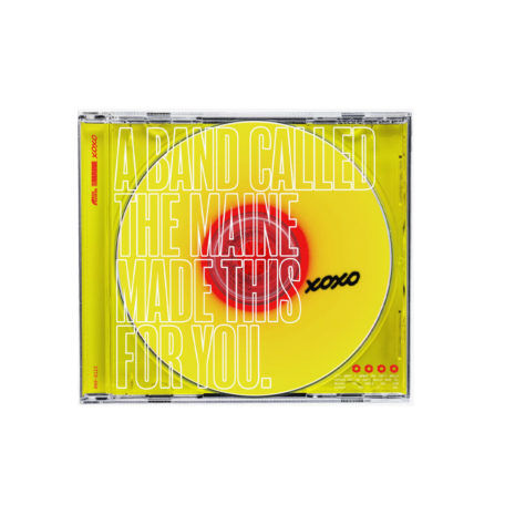 THE MAINE XOXO From Love And Anxiety CD