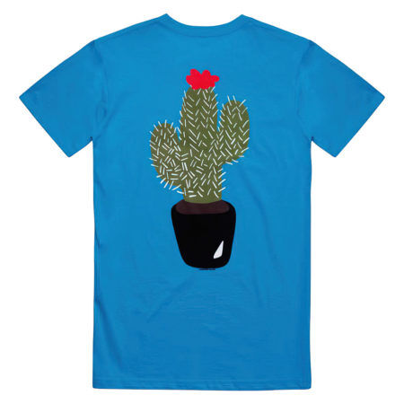THE STORY SO FAR Cactus Proper Light Blue Tshirt Back