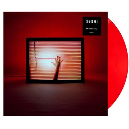 CHVRCHES Screen Violence Red Vinyl