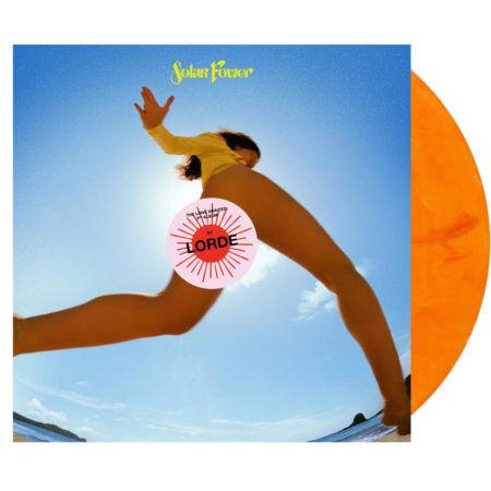 LORDE Solar Power Orange Vinyl