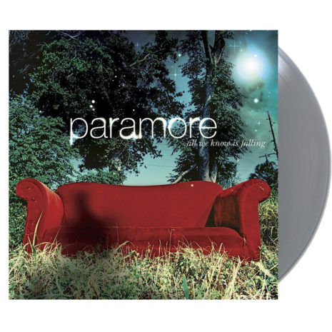 PARAMORE All We Know Is Falling Silver Vinyl