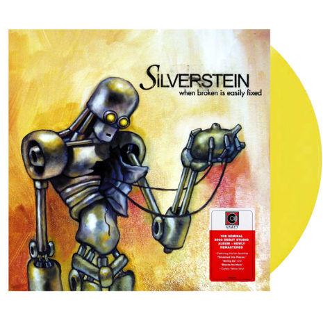 SILVERSTEIN When Broken Is Easily Fixed Yellow Vinyl